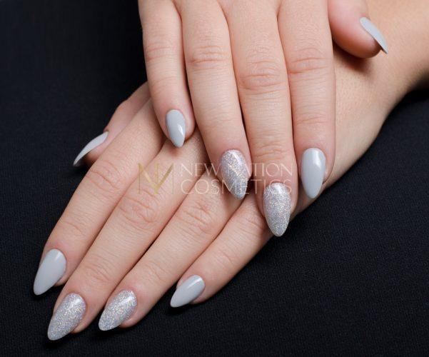 Silber grau