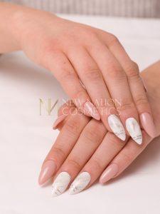 Marmor Effect Weiss