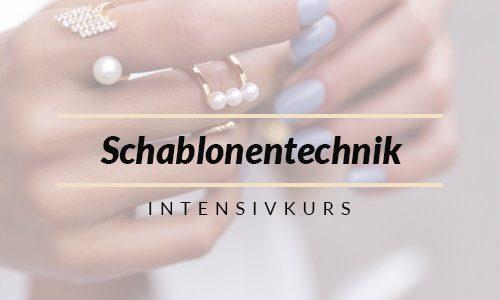 Schablonentechnik – Intensivkurs